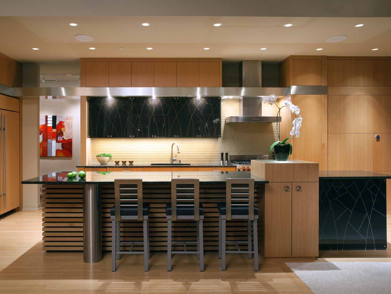 Modern Zen Kitchen In Minneapolis, Minnesota