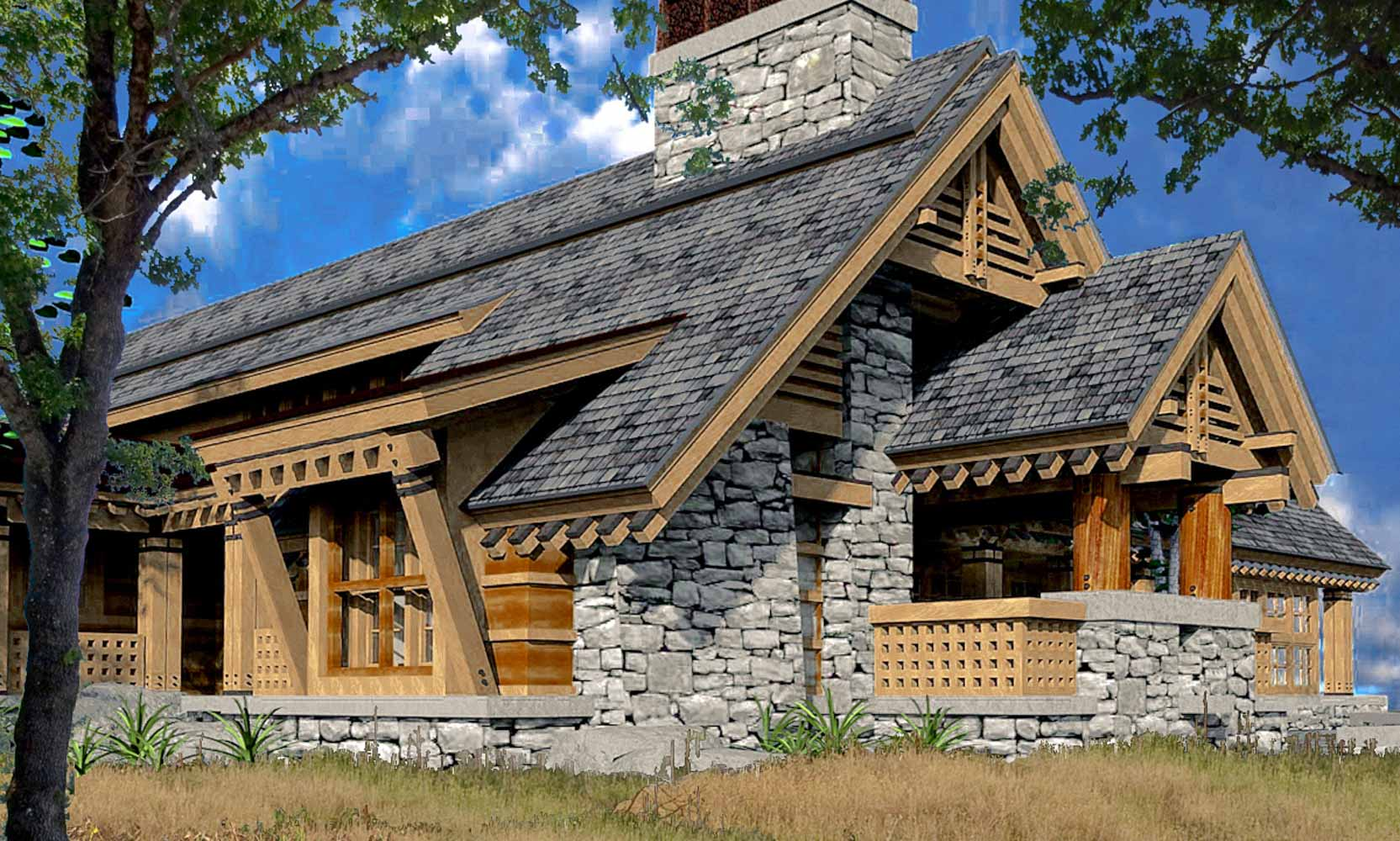 Arteriors residential architects modern house architecture for Mountain style home plans